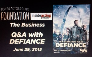 SAG Foundation:Inside Acting:Defiance